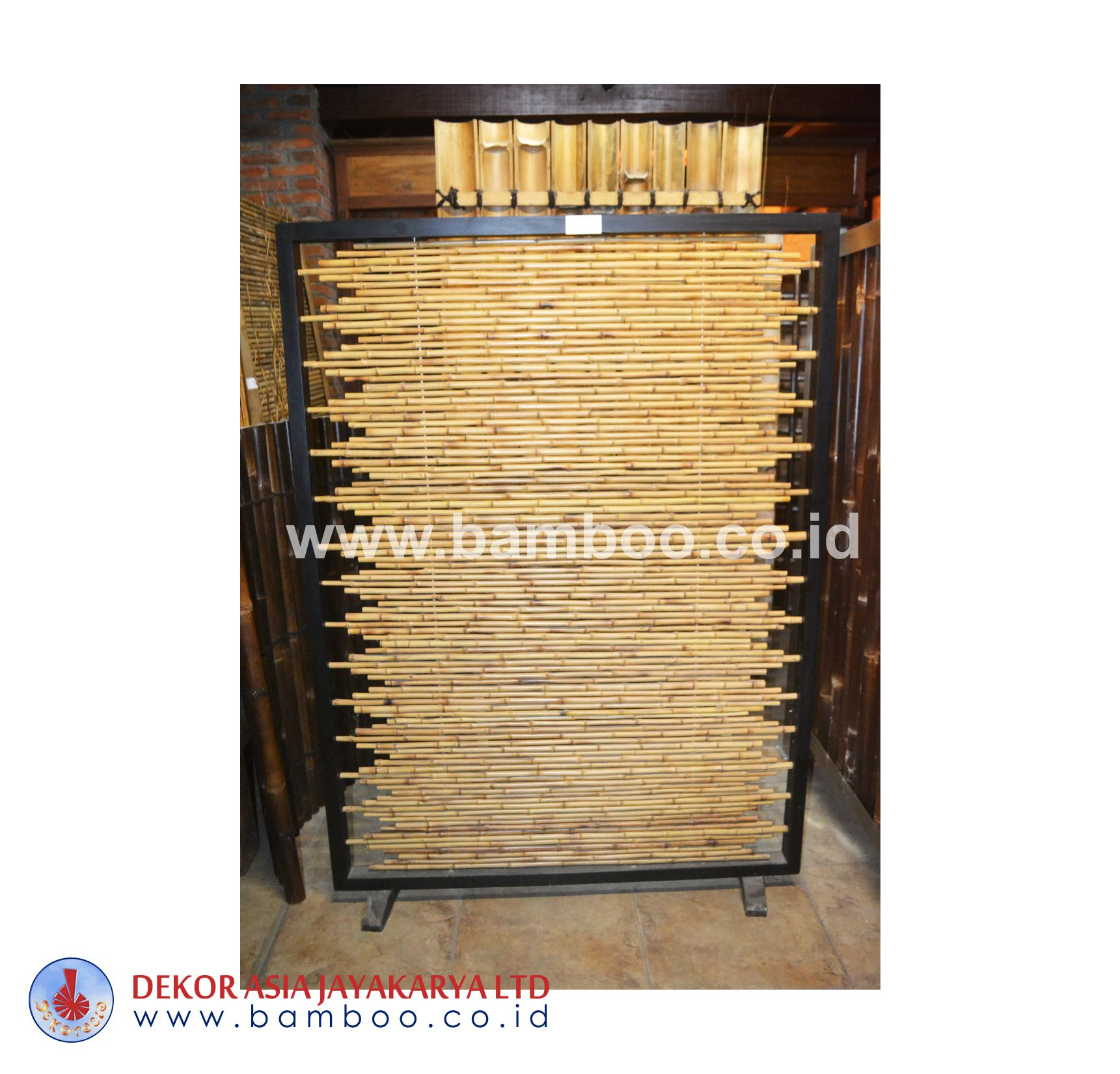 Bamboo Cendani Frame With Wood