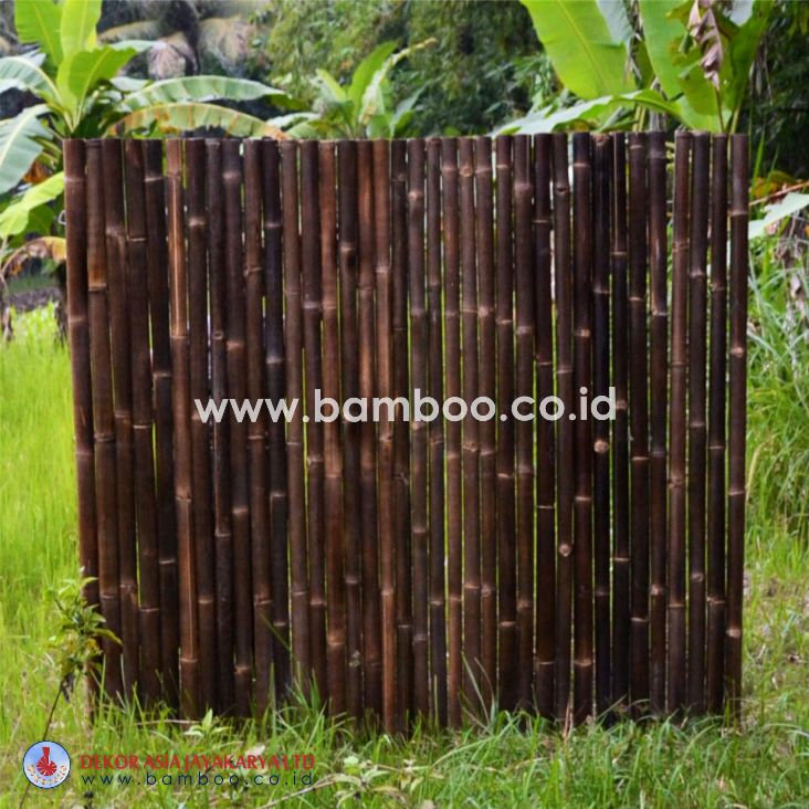 Black Bamboo Full Raft Panel | Bamboo Screen | Bamboo Screens | Bamboo Fence
